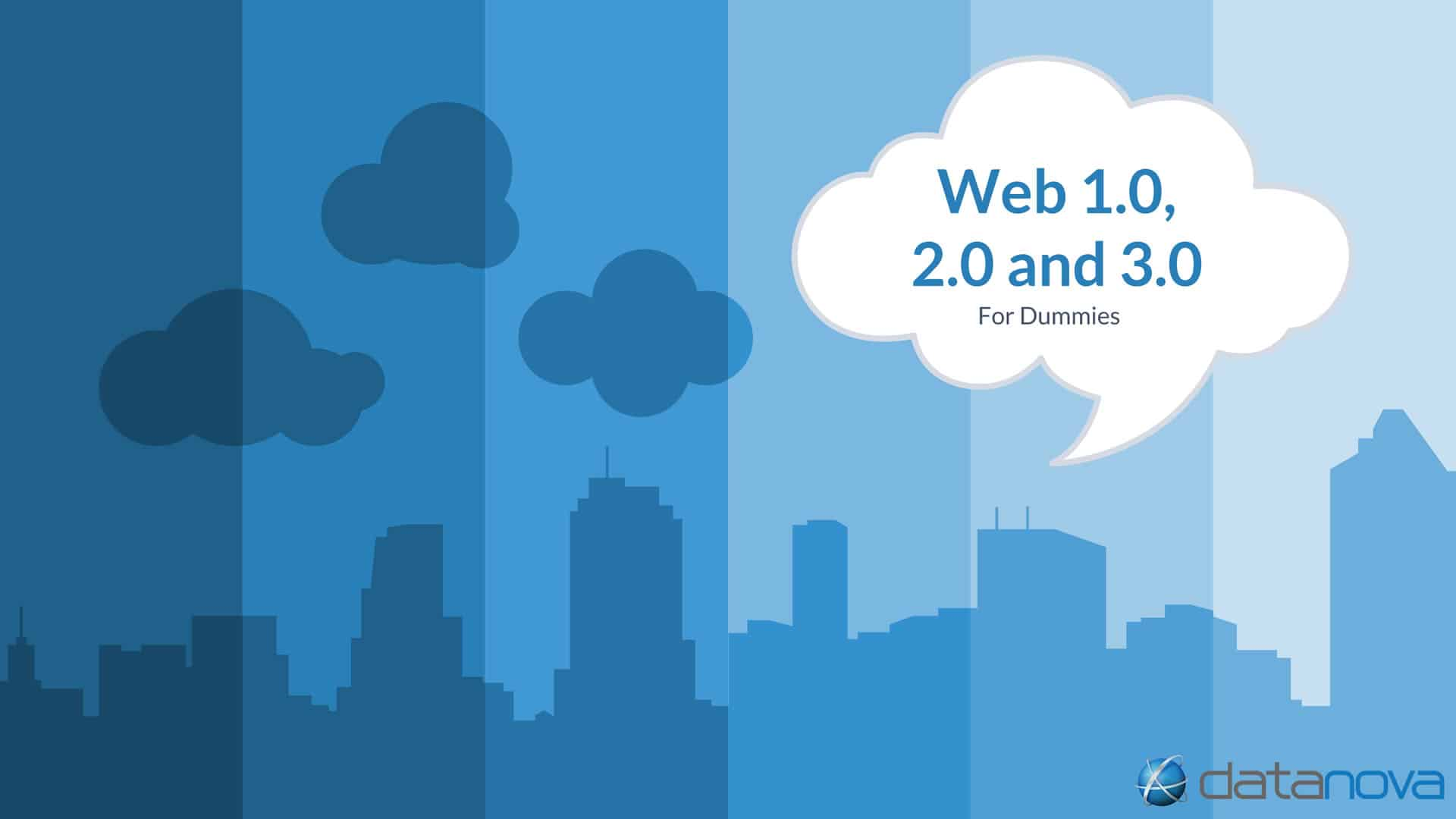 Web 1.0, 2.0 and 3.0 for dummies