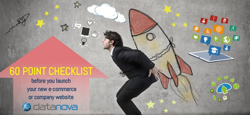 60 point checklist for launching e-commerce websites